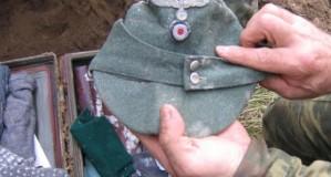 Nalezená bedna německého důstojníka