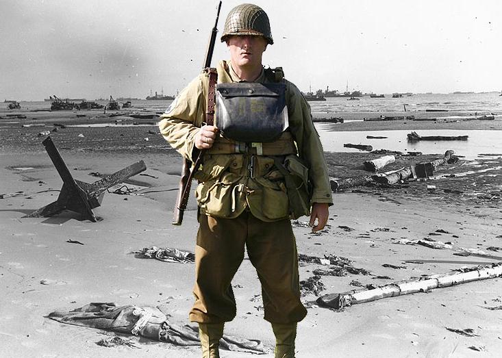 Takto vypadá voják 5th Rangers Battailon, který je vystrojen dle seznamu v tomto článku.