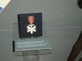 Německý čestný olympijský odznak, který obdržel Konrád Henlein