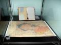 Jeden ze tří originálů Mnichovské dohody s mapou, která je nedílnou součástí dokumentu.